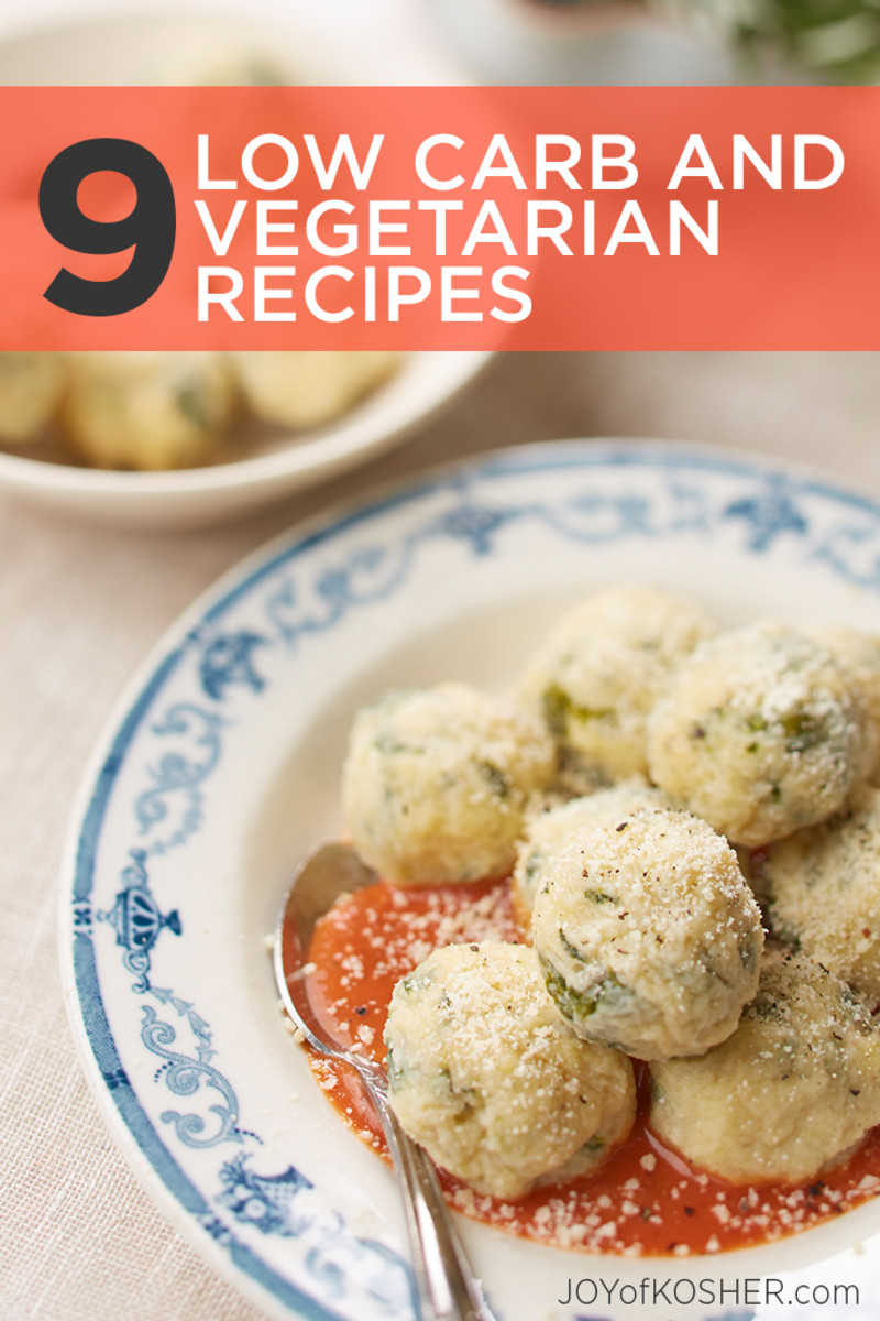 Low carb and vegetarian recipes