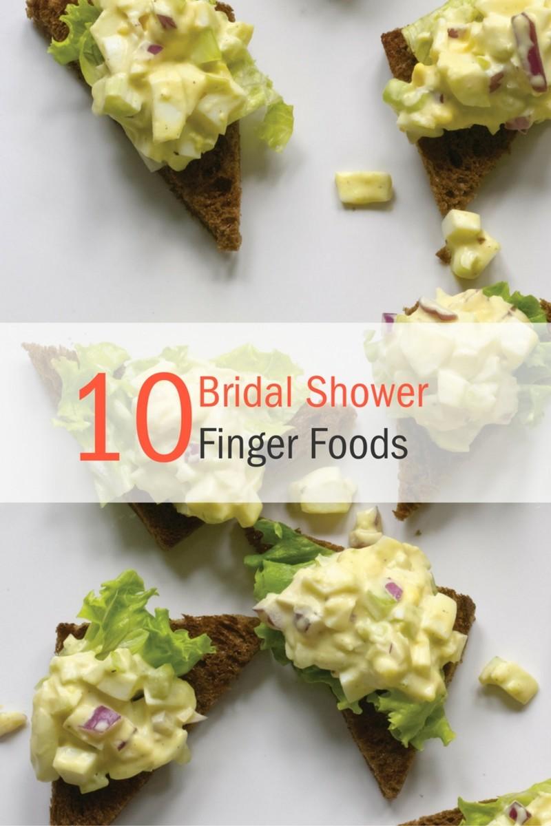 Bridal Shower Recipe Ideas