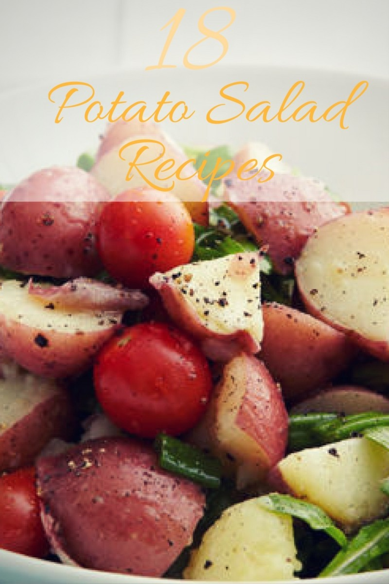 18 Amazing Potato Salad Recipes for your summer BBQs