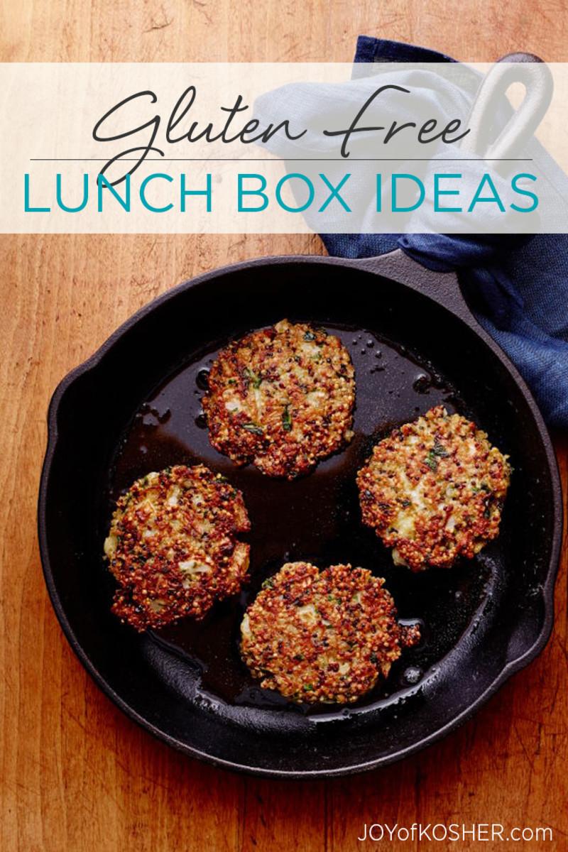 Gluten Free Lunch Box Staples