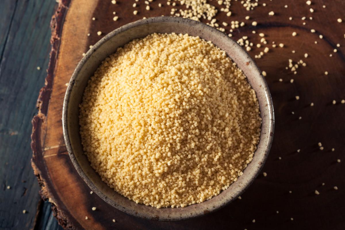 Almond Currant Couscous