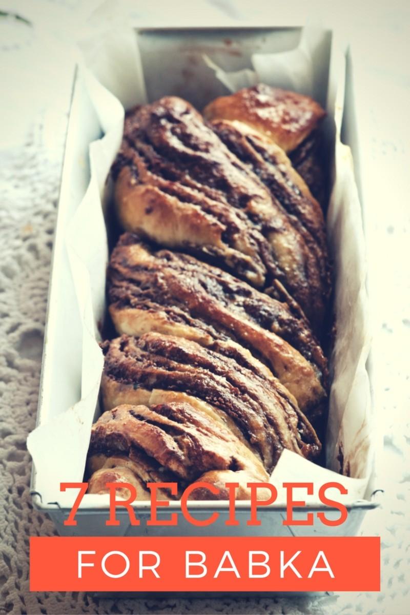 7 Ooey Gooey Delicious Jewish Babka Recipes