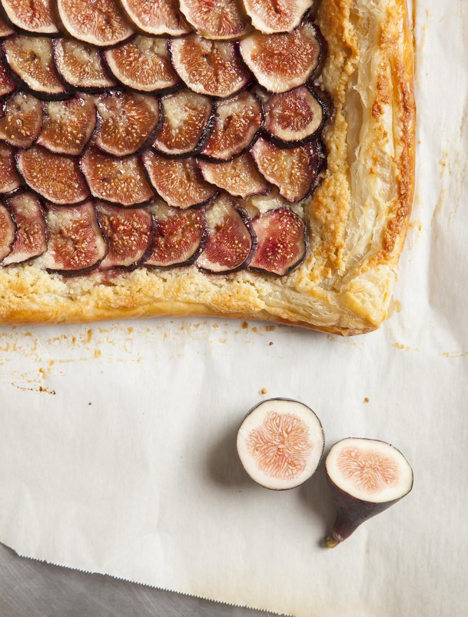 Frangipane Fig Tart