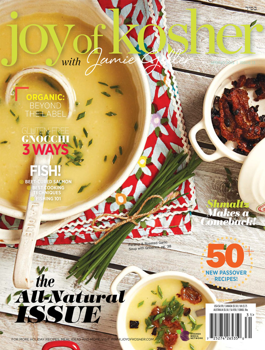 Joy of Kosher Magazine Spring 2013