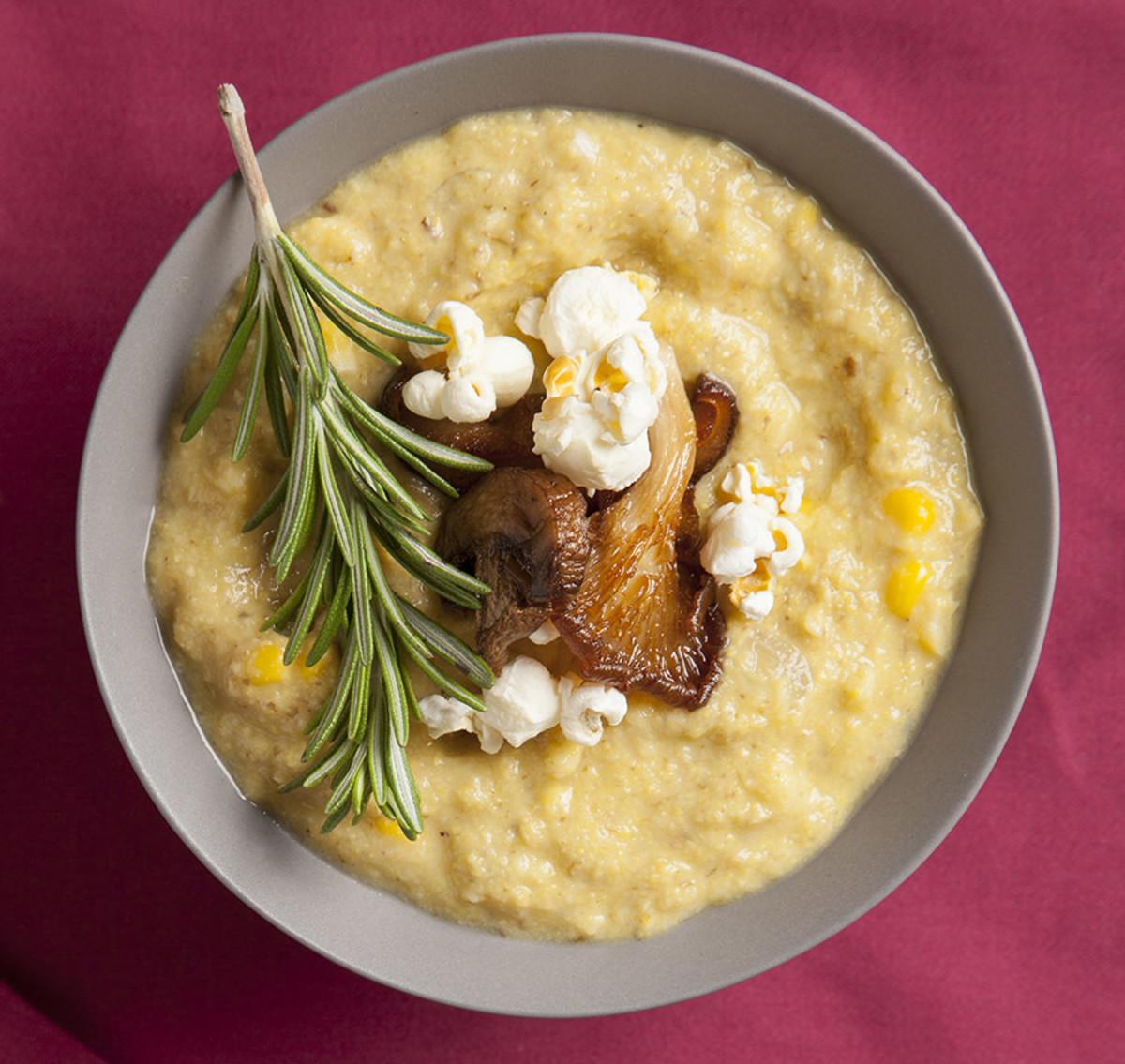 Chilled corn chowder