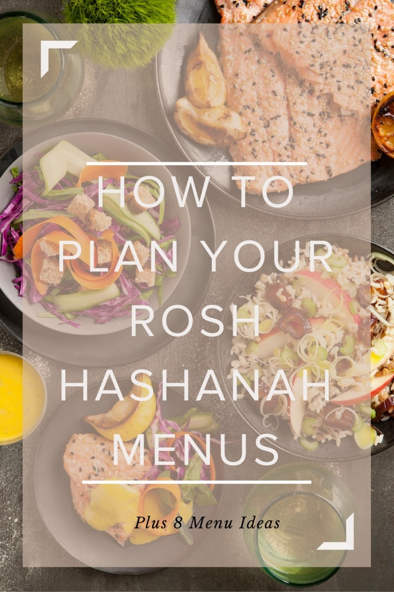 How To plan your rosh hashanah menus plus 8 menu ideas