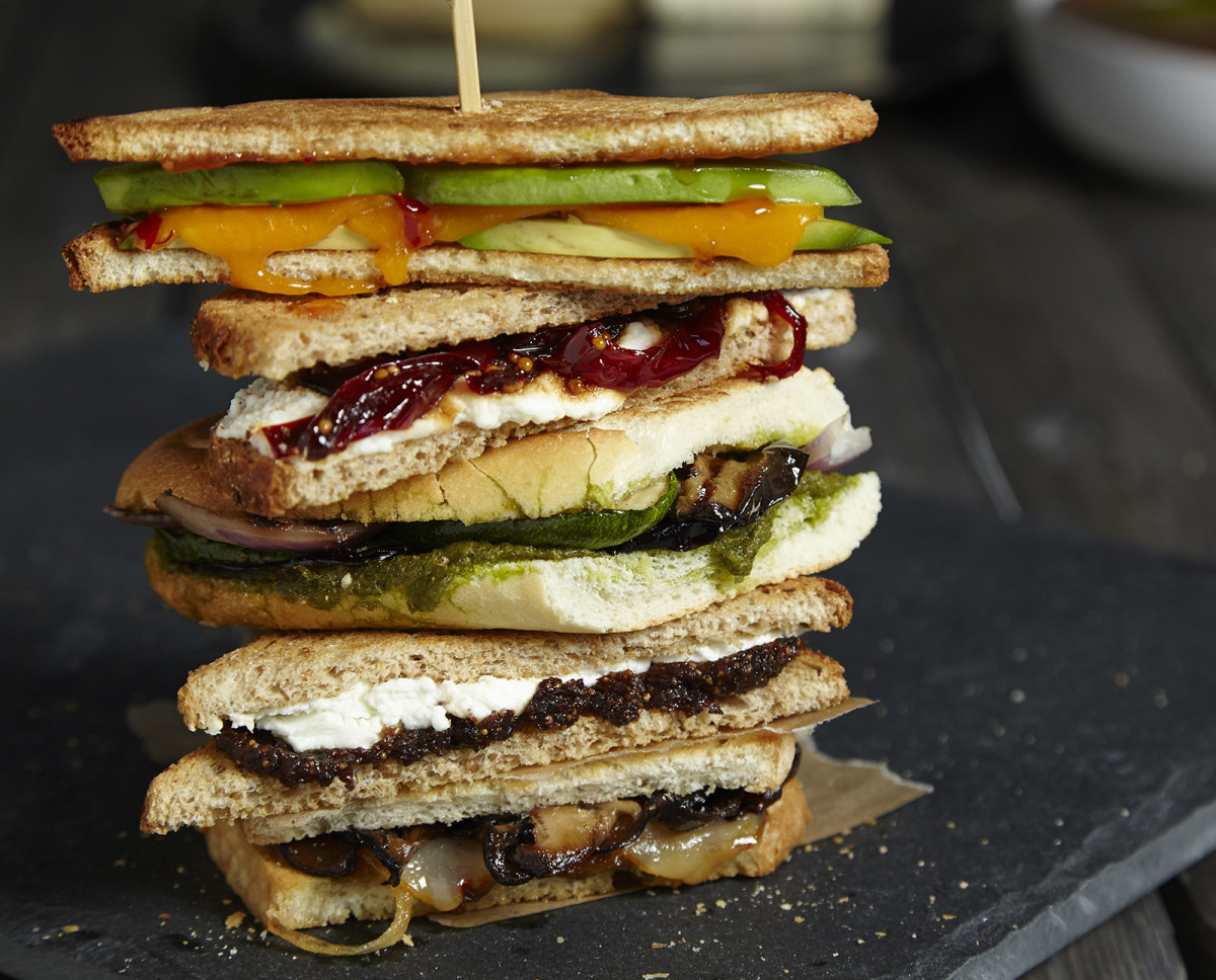 Avocado and Sweet Thai Chilli Grilled Cheese
