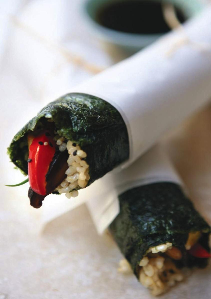 Vegan Gimbop Sushi