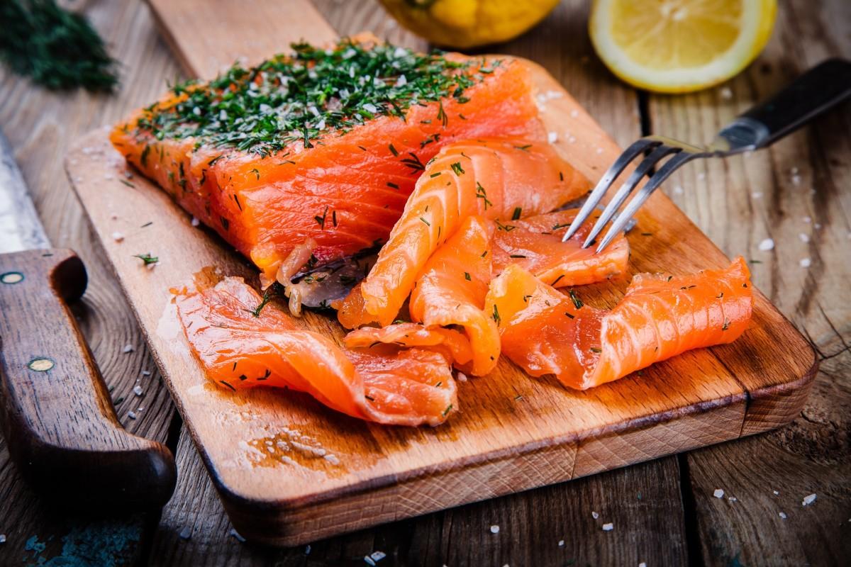 Cured Salmon