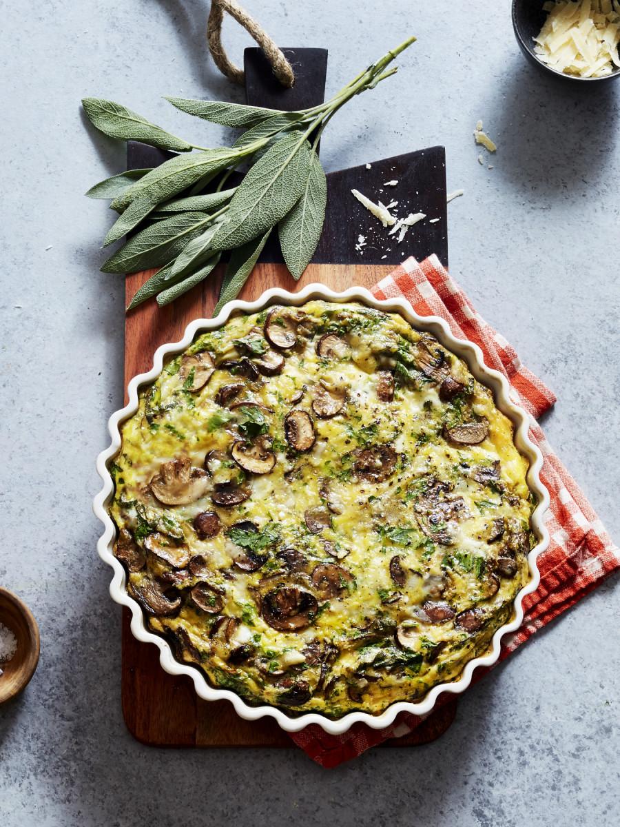 Mushroom Sage Omelet 3