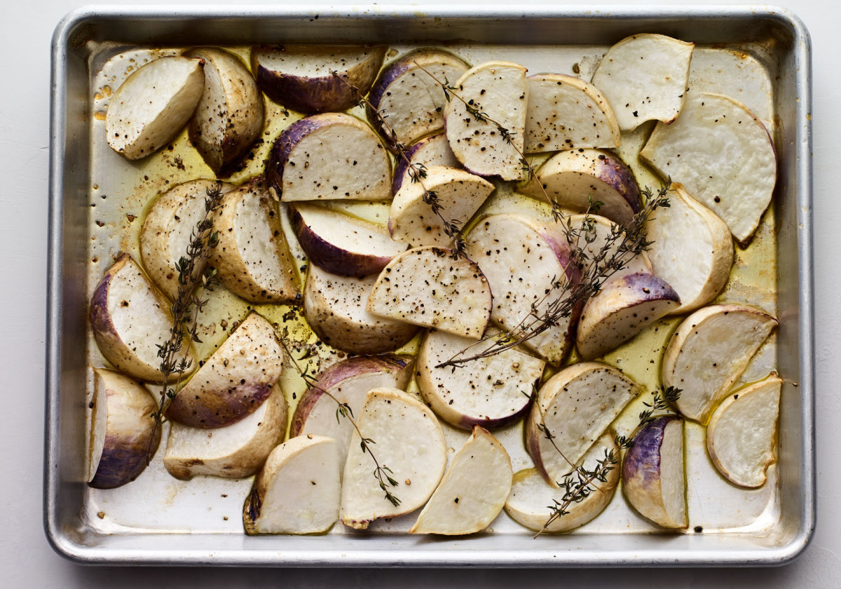 Honey Roasted Turnips