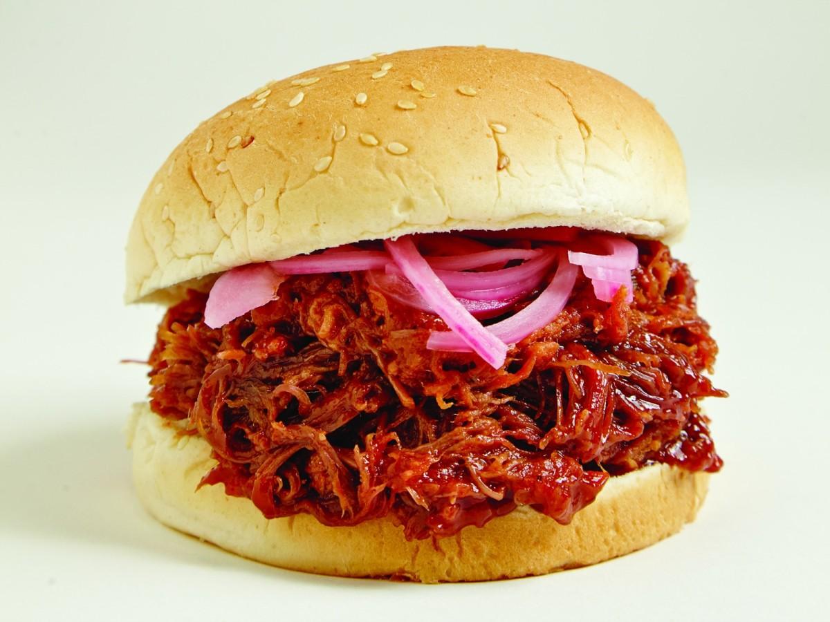 Pulled Beef Sandwich wide