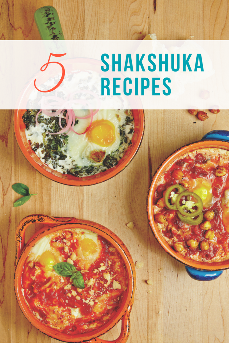 Shakshuka 5 ways - one for every night of the week