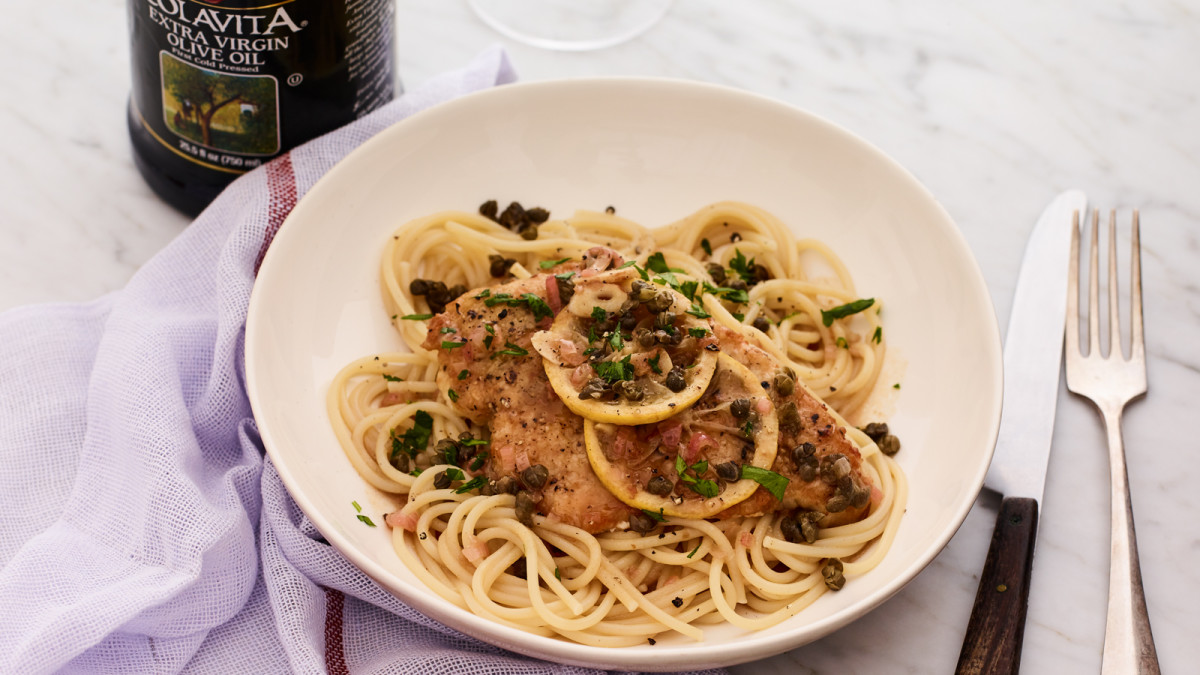 Chicken Piccata with Fried Capers - Joy of Kosher