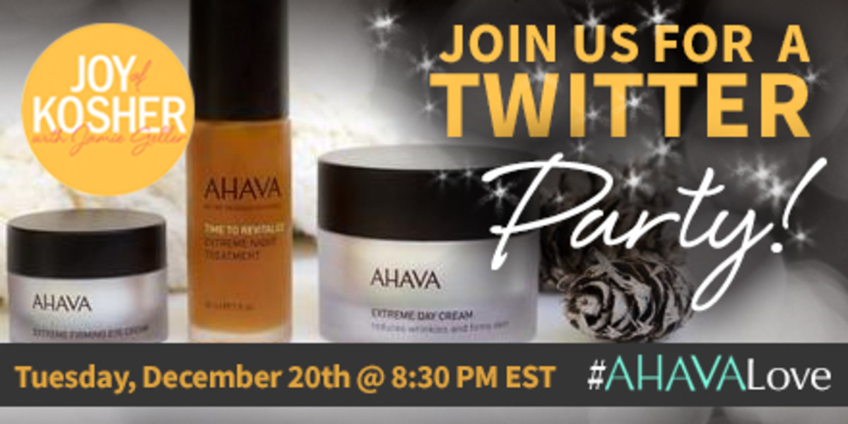 AHAVA Twitter Party