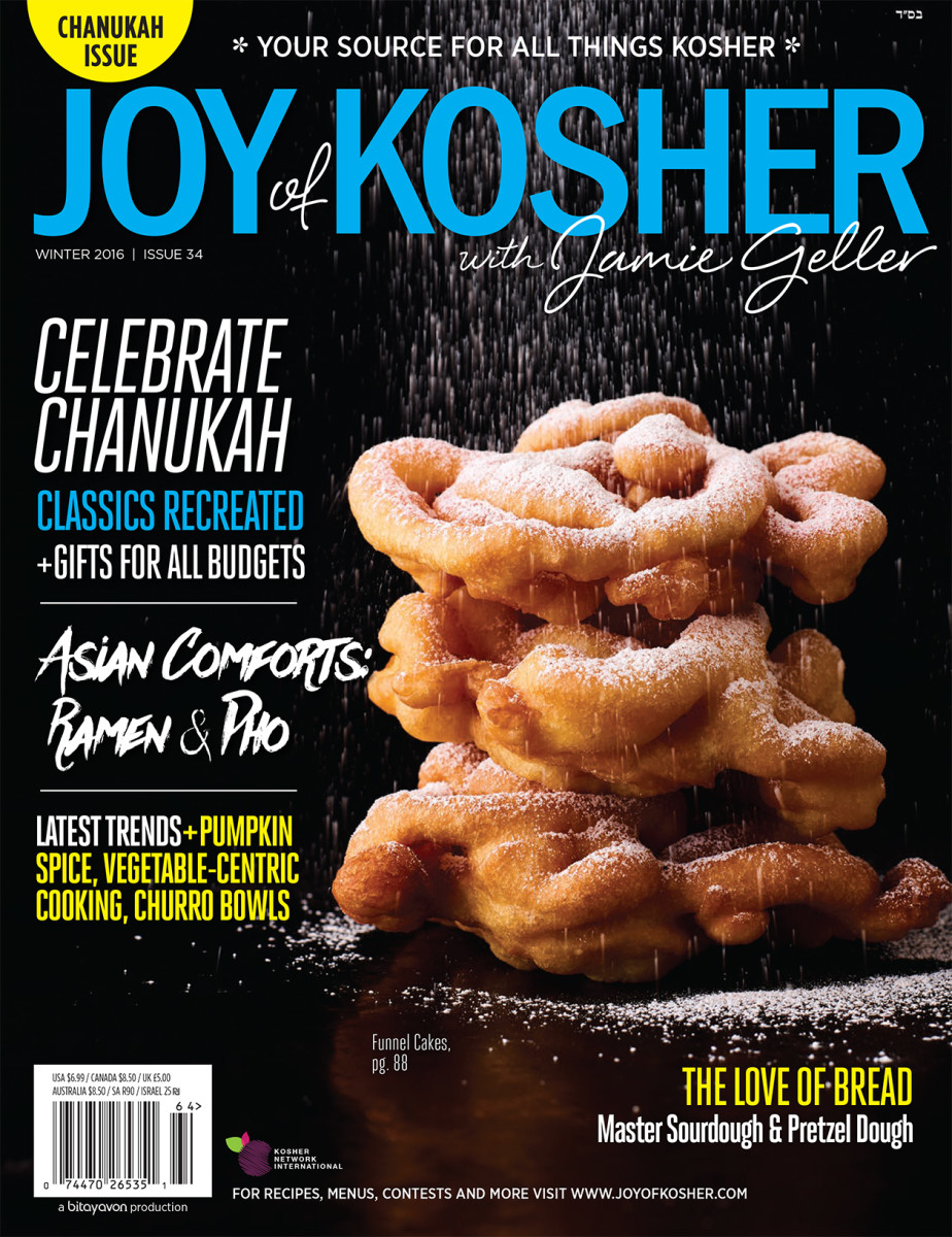 Joy of Kosher Chanukah 2016 cover