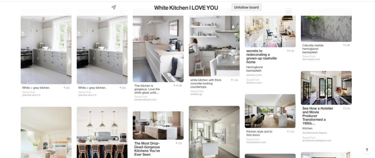Jamie's white kitchen