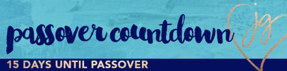 Passover countdown 15days