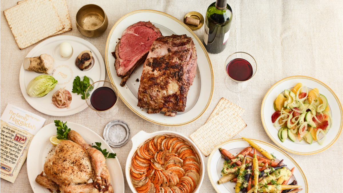 passover seder menu