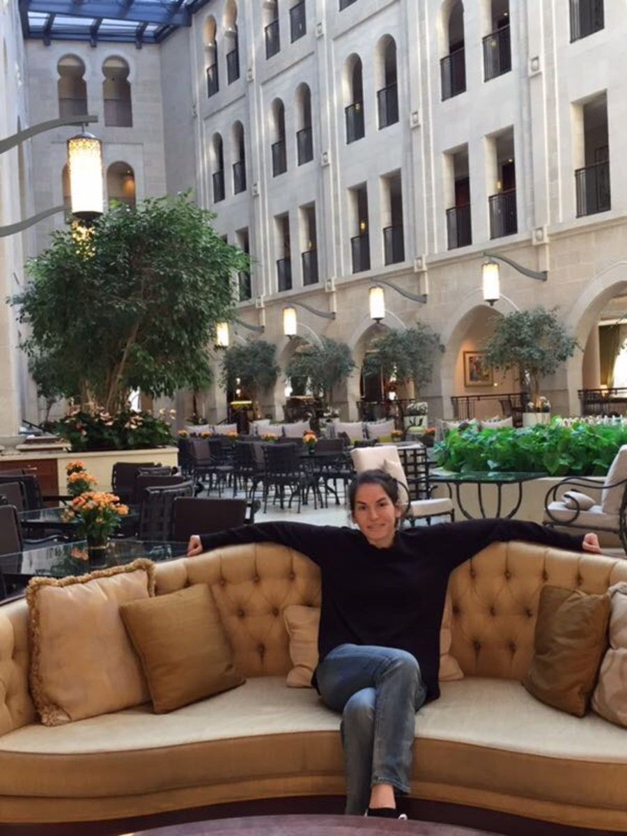 emily at the waldorf