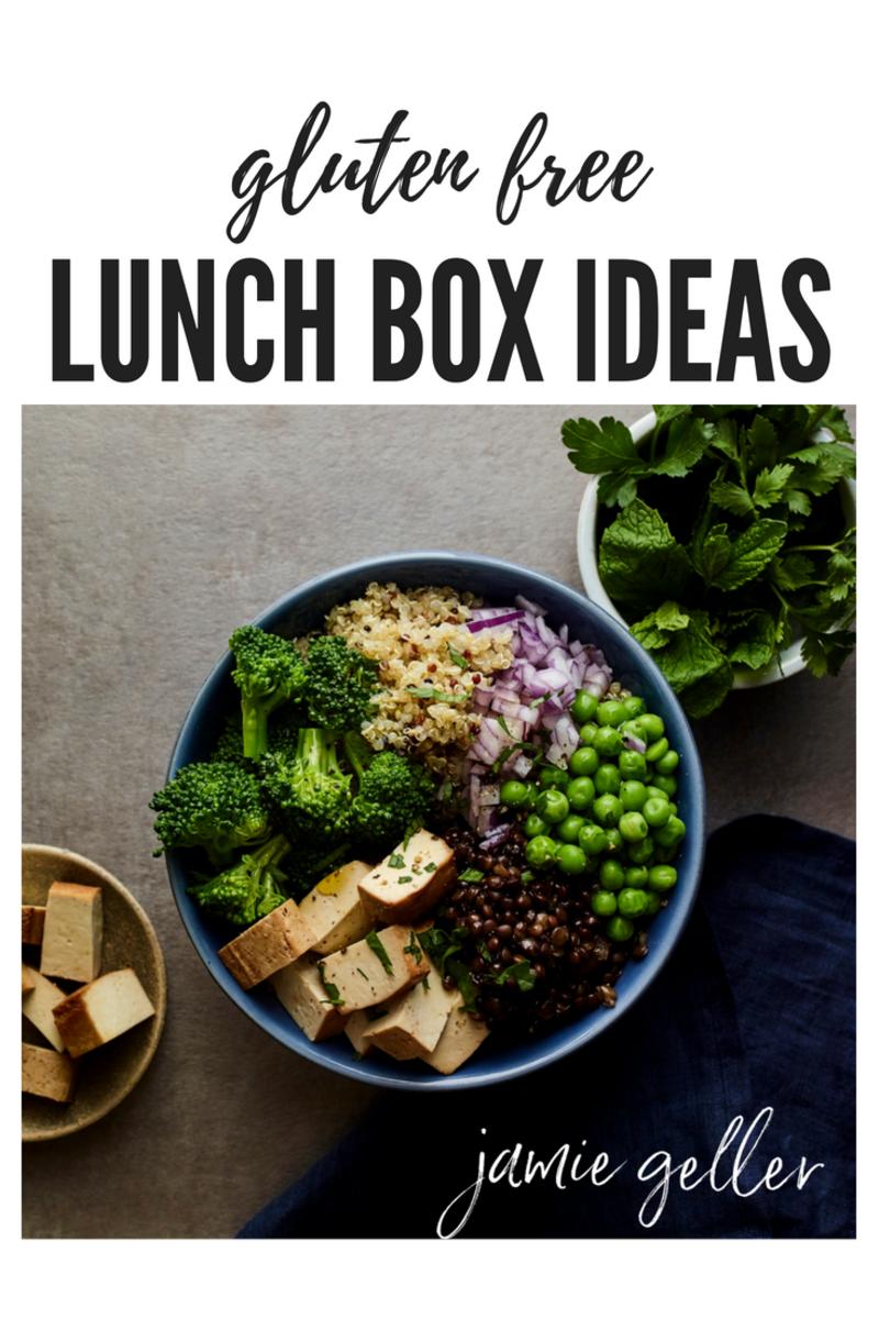 gluten free lunch ideas pin