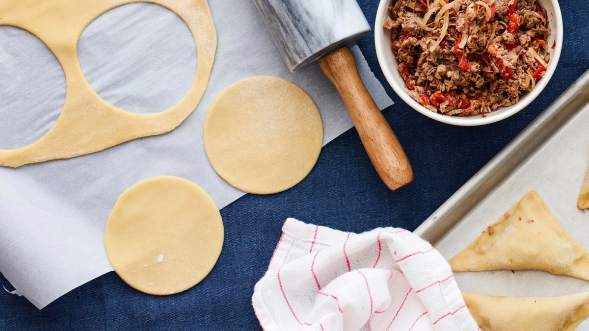3-Ingredient Homemade Kreplach Dough