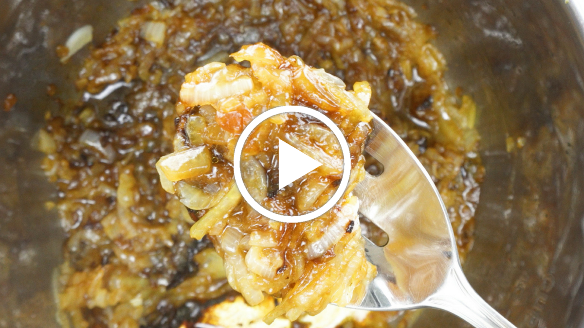 Instant Pot Caramelized Onions