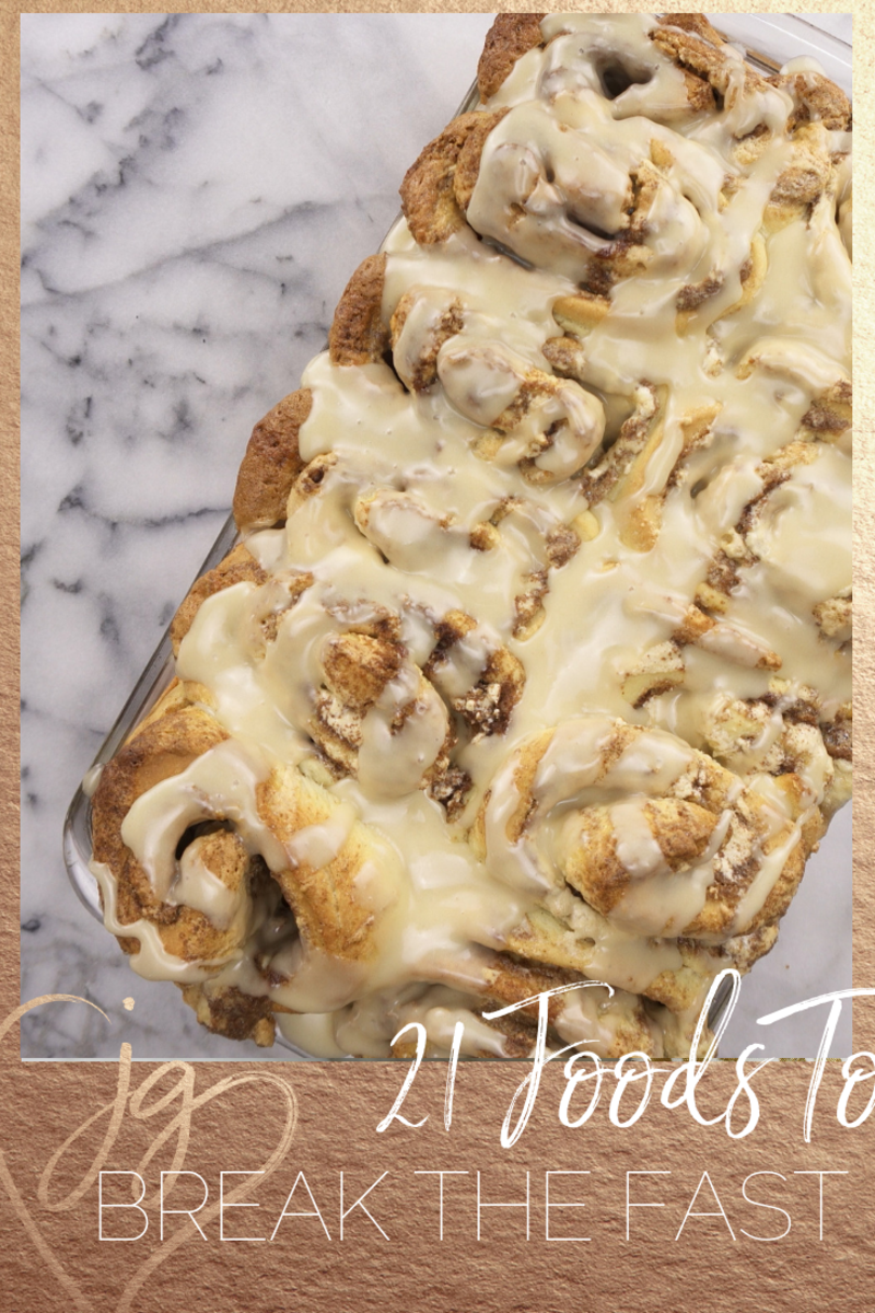 21 foods to break your fast