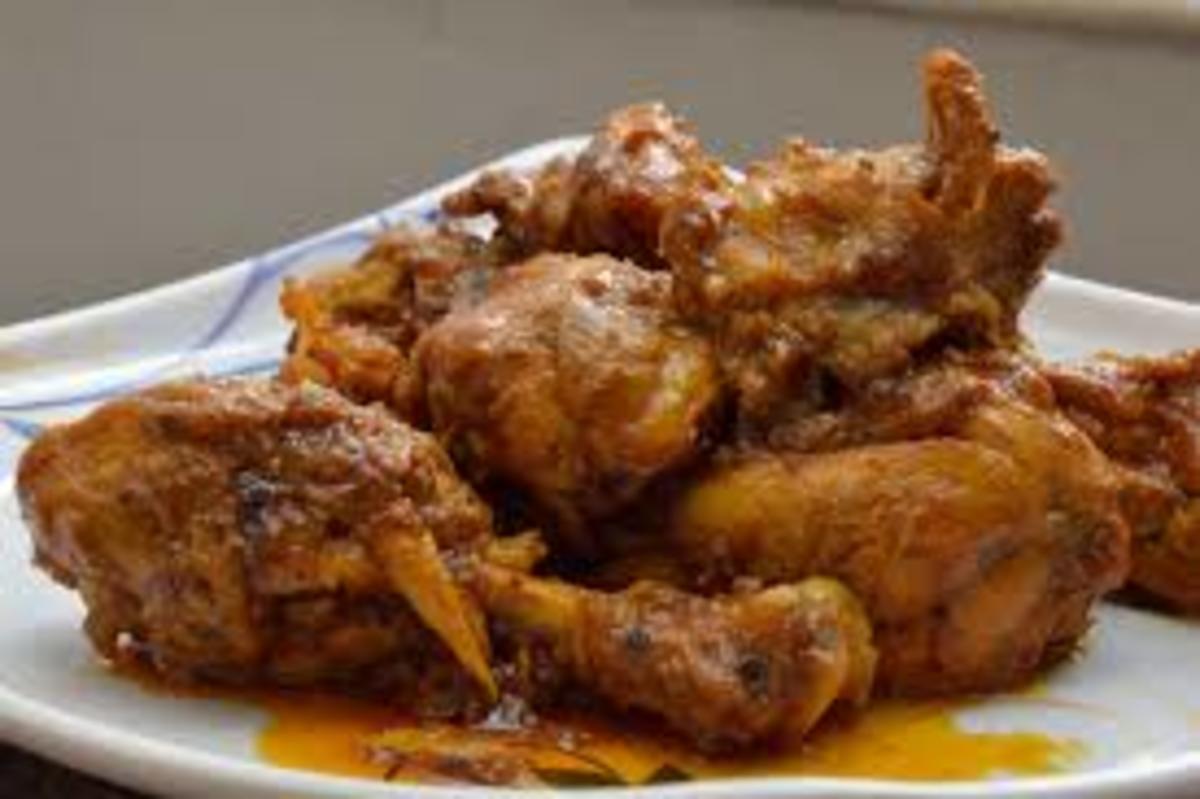 Cayenne Chicken in slow cooker