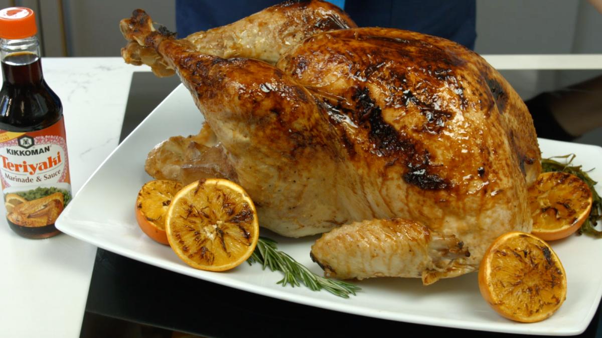Teriyaki Glazed Turkey