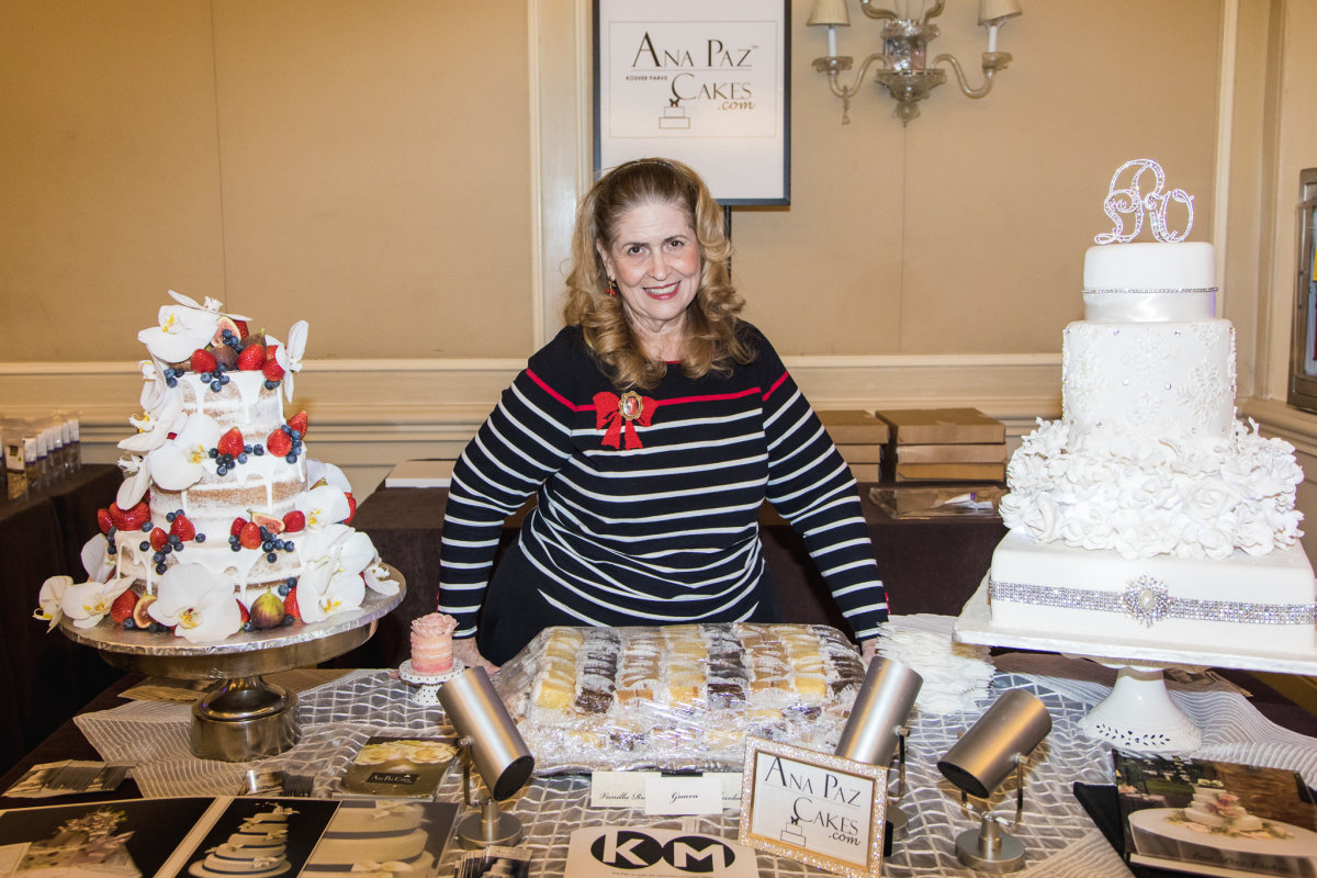 Pastry was a big theme at the show. Anna Paz's cakes were standout.