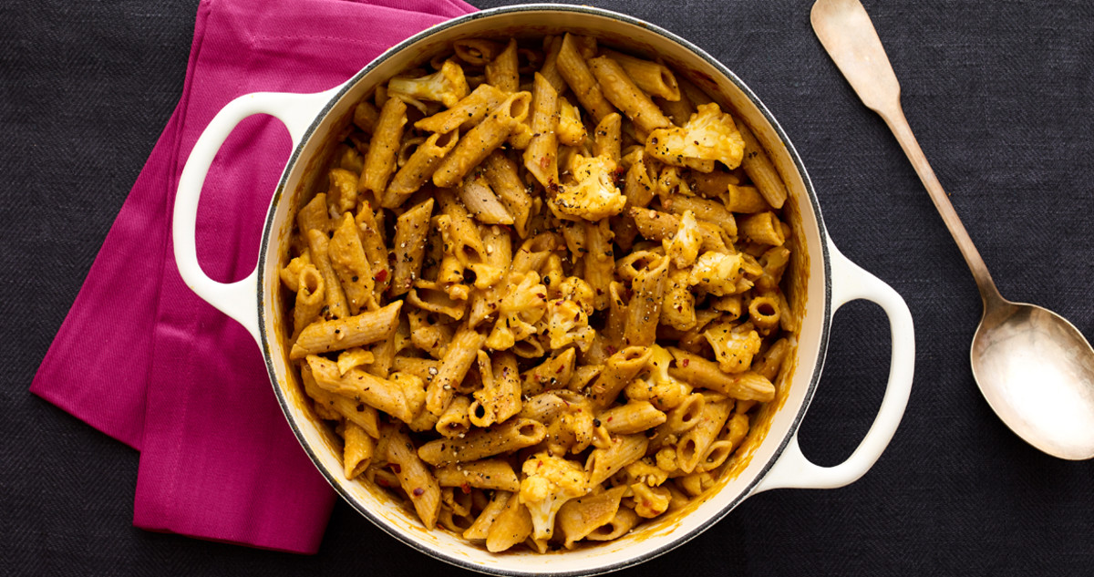 Fresh Families Whole Wheat Cauliflower Creamy Penne Pasta