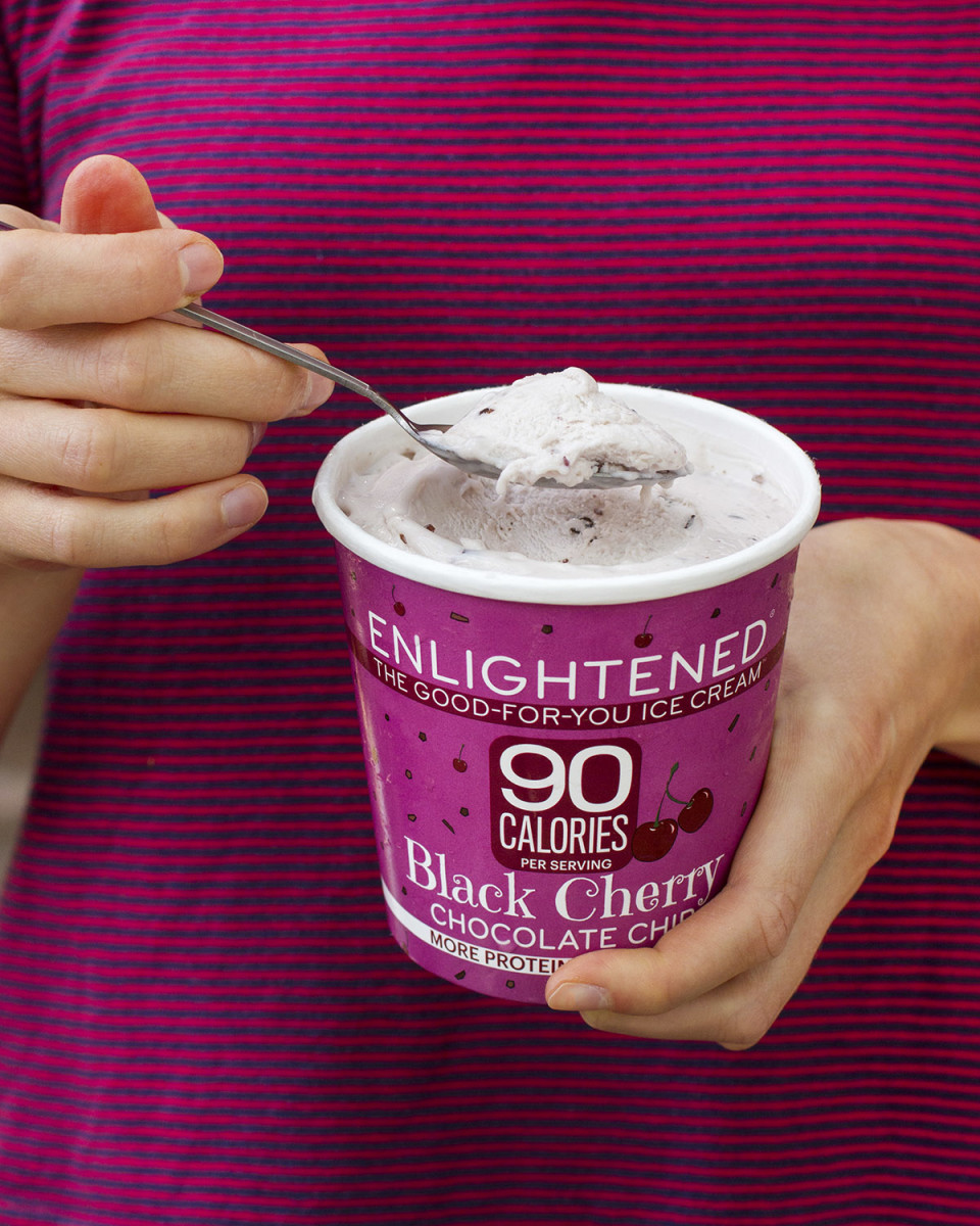 Enlightened Ice Cream; a healthier ice cream choice