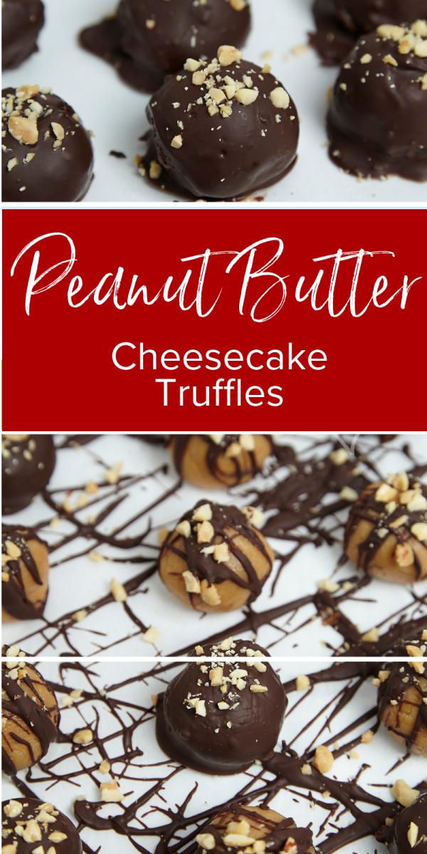 Peanut Butter Cheesecake Truffles