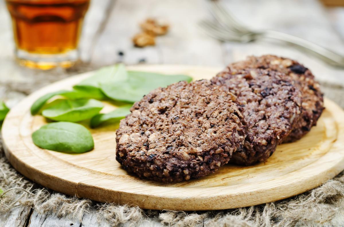 brown rice veggie burgers