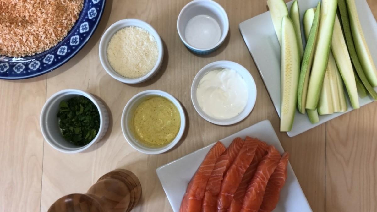 panko parm fresh families salmon ingredient shot
