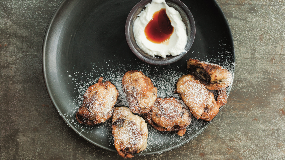 Fried Rugelach