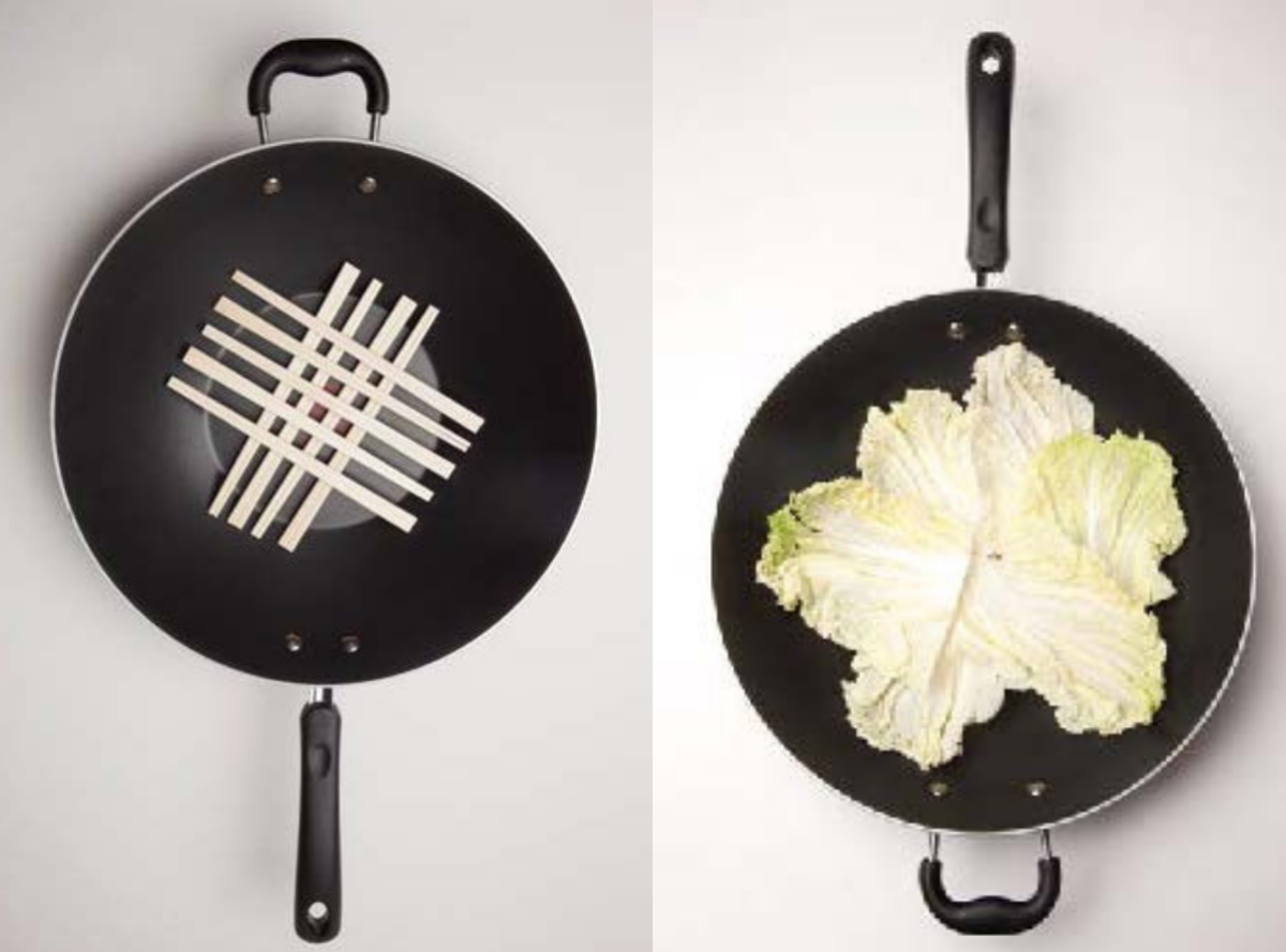 how to us a wok as a steamer