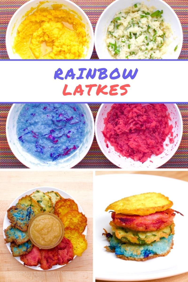rainbow-latkes