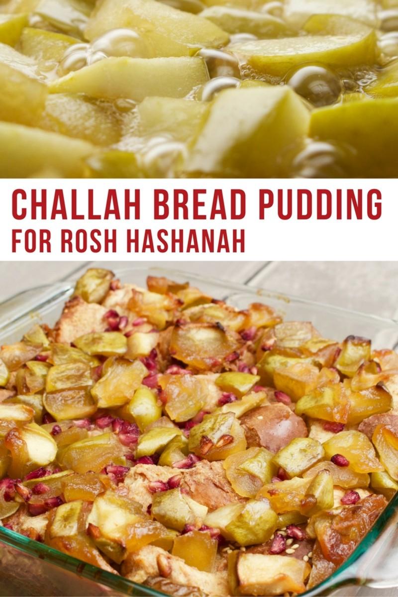 Challah Bread Pudding
