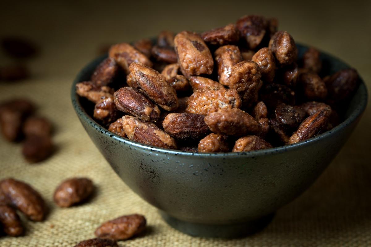 brown sugar roasted nuts