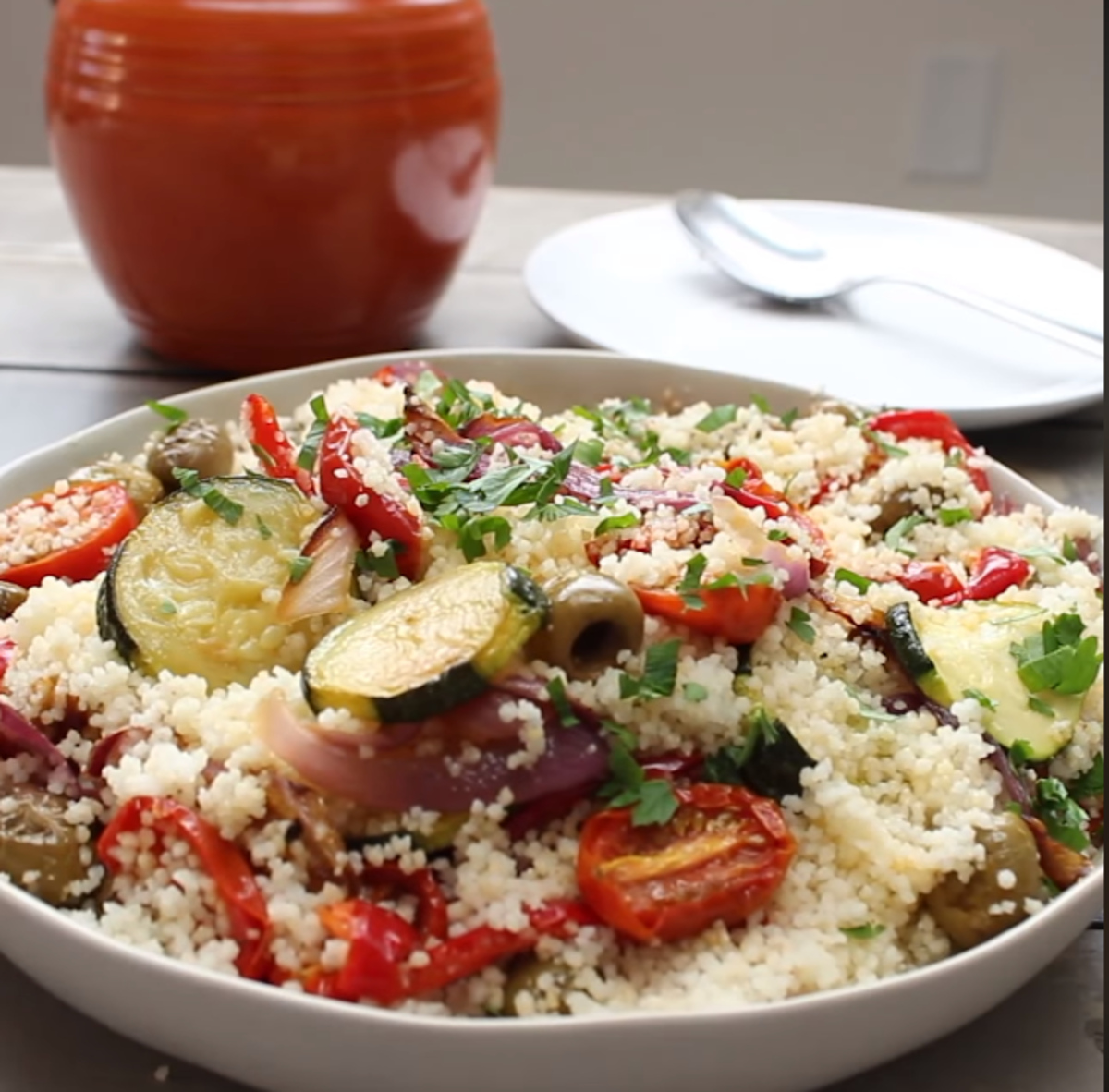 Roasted-Vegetable Couscous