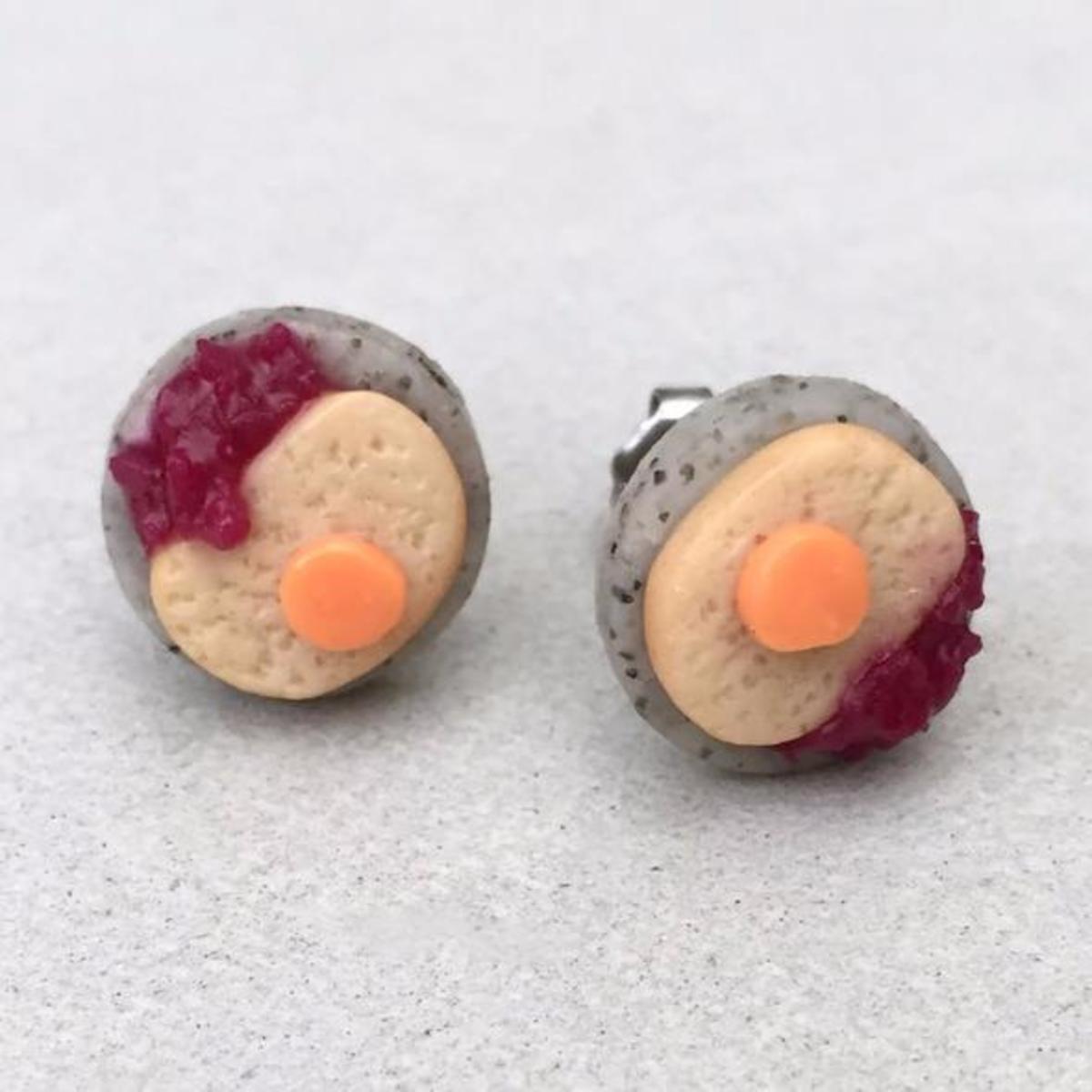 Gefilte Fish Earrings